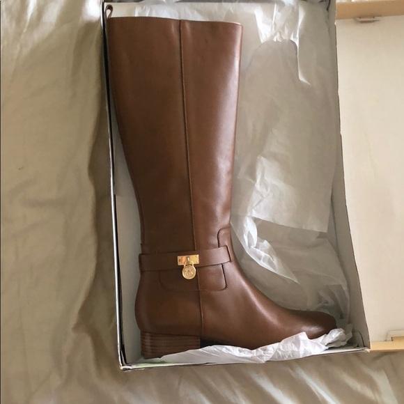 Michael Kors Ryan Boot Leather Light